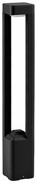 Kuzco EB0531-BK Contemporary Black LED Outdoor 32  Post Light Fixture