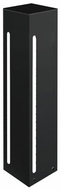 Kuzco EB2824-BK Modern Black LED Outdoor 24  Pole Lighting Fixture
