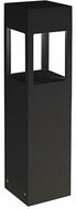 Kuzco EB3024-BK Modern Black LED Outdoor 24  Post Lamp