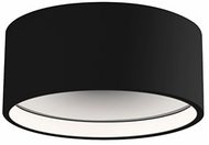 Kuzco EC18705-BK Trenton Contemporary Black LED Outdoor Ceiling Lighting
