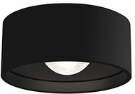 Kuzco EC18805-BK Trenton Contemporary Black LED Outdoor Ceiling Light Fixture