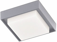 Kuzco EC34505-GY Ridge Modern Gray LED Exterior 4.5  Flush Mount Lighting Fixture