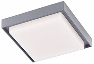 Kuzco EC34507-GY Ridge Modern Gray LED Exterior 7  Flush Mount Ceiling Light Fixture