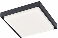 Kuzco EC34509-BK Ridge Contemporary Black LED Outdoor 8  Home Ceiling Lighting