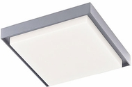 Kuzco EC34509-GY Ridge Modern Gray LED Exterior 8  Overhead Light Fixture