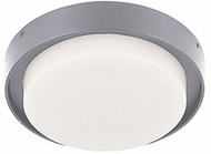 Kuzco EC44505-GY Bailey Modern Gray LED Exterior 6  Ceiling Lighting