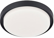 Kuzco EC44509-BK Bailey Contemporary Black LED Outdoor 9  Ceiling Light