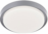 Kuzco EC44509-GY Bailey Modern Gray LED Exterior 9  Ceiling Light Fixture