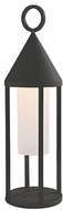 Kuzco EL44818-GH Delta Modern Graphite LED Outdoor Pier Mount