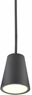 Kuzco EP16605-BK Hartford Contemporary Black LED Outdoor Drop Lighting