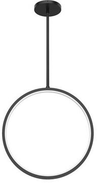 Kuzco EP64815-BK Parc Contemporary Black Exterior Hanging Light