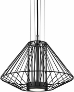 Kuzco EP68320-BK Arctic Contemporary Black LED Outdoor 20  Pendant Lighting