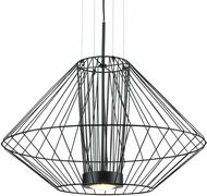 Kuzco EP68328-BK Arctic Contemporary Black LED Outdoor 27.5  Lighting Pendant