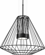 Kuzco EP68420-BK Arctic Contemporary Black LED Outdoor 20  Hanging Lamp