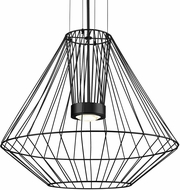 Kuzco EP68428-BK Arctic Contemporary Black LED Outdoor 27.5  Pendant Light Fixture