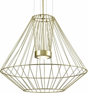 Kuzco EP68428-GD Arctic Modern Gold LED Exterior 27.5  Pendant Lighting Fixture