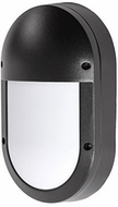 Kuzco EW1308-BK Contemporary Black LED Outdoor 5.25  Lamp Sconce