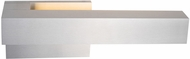 Kuzco EW13212L-BN Warner Contemporary Brushed Nickel LED Outdoor Wall Lamp