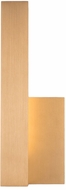 Kuzco EW13212L-GD Warner Modern Gold LED Exterior Wall Lighting