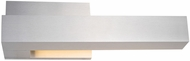 Kuzco EW13212R-BN Warner Contemporary Brushed Nickel LED Outdoor Lighting Sconce