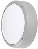 Kuzco EW1714-GY Modern Gray LED Outdoor 13.875  Sconce Lighting