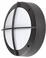 Kuzco EW1806-BK Contemporary Black LED Outdoor 5.875  Light Sconce