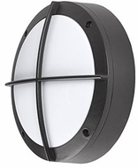 Kuzco EW1809-BK Contemporary Black LED Outdoor 8.75  Lamp Sconce
