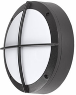 Kuzco EW1811-BK Contemporary Black LED Outdoor 10.875  Wall Light Fixture