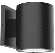 Kuzco EW19404-BK Lamar Modern Black Exterior 4  Lighting Sconce