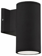 Kuzco EW3107-BK Modern Black LED Outdoor 3.5  Lamp Sconce
