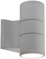 Kuzco EW3207-GY Modern Gray LED Outdoor 3.5  Wall Lighting Sconce