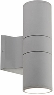 Kuzco EW3210-GY Contemporary Gray LED Outdoor 3.5  Wall Light Sconce