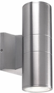 Kuzco EW3210-SV Modern Silver LED Outdoor 3.5  Wall Lighting Fixture