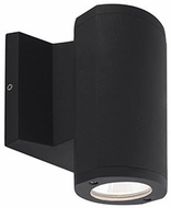 Kuzco EW3306-BK Contemporary Black LED Outdoor 3.75  Wall Light Sconce