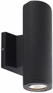 Kuzco EW3310-BK Modern Black LED Outdoor 3.75  Wall Lamp