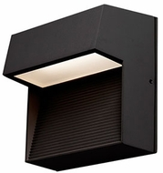 Kuzco EW3406-BK Contemporary Black LED Outdoor 6.25  Light Sconce