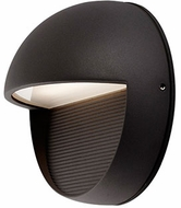 Kuzco EW3506-BK Contemporary Black LED Outdoor 6.25  Lamp Sconce