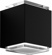 Kuzco EW35405-BK Sunset Modern Black LED Light Sconce