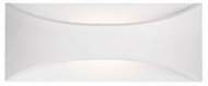 Kuzco EW3612-WH Modern White LED Outdoor 11.75  Wall Light Sconce