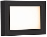 Kuzco EW37202-BK Dynamo Modern Black LED Exterior Wall Lighting