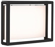 Kuzco EW37203-BK Dynamo Modern Black LED Exterior Light Sconce