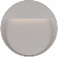 Kuzco EW71209-GY Mesa Modern Grey LED Exterior 9  Wall Sconce Lighting