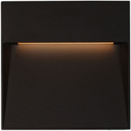 Kuzco EW71309-BK Casa Contemporary Black LED Outdoor 7  Wall Mounted Lamp