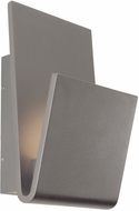 Kuzco EW7512-GY Logan Contemporary Grey LED Outdoor Sconce Lighting
