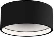Kuzco FM10205-BK Lucci Contemporary Black LED Ceiling Lighting