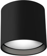 Kuzco FM10605-BK Falco Contemporary Black LED Ceiling Light Fixture