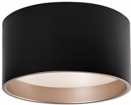 Kuzco FM11414-BK Modern Black LED 14  Flush Mount Lighting