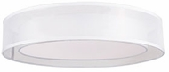 Kuzco FM11415-WH Covina Contemporary White LED 15  Flush Mount Lighting Fixture