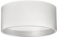 Kuzco FM11418-WH Contemporary White LED 17.75  Flush Mount Ceiling Light Fixture