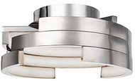 Kuzco FM12716-BN Modern Brushed Nickel LED 15.75  Flush Mount Lighting Fixture